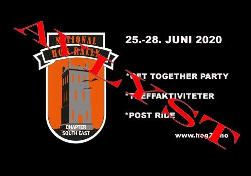 Norwegian National Rally 2020 - avlyst